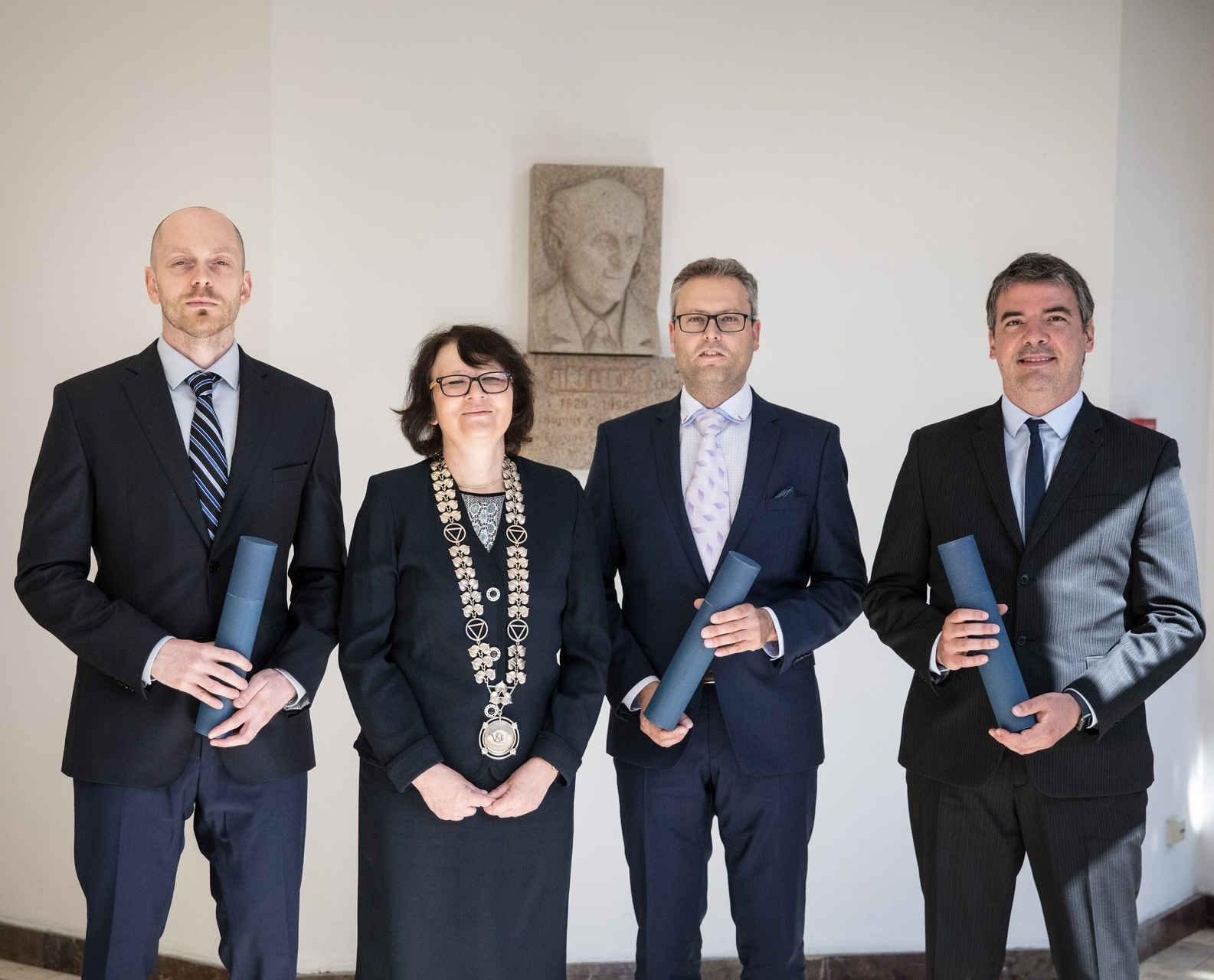 FIR Has Two New Associate Professors. Vincenzo Merella and Přemysl Průša Received a Decree From the Rector of the University of Economics, Prague.