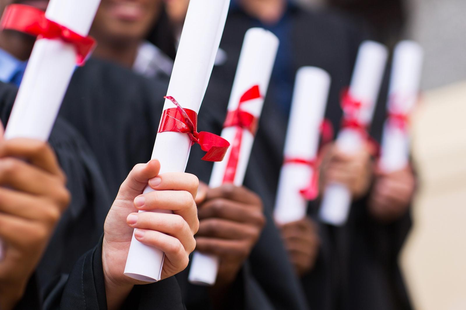 Graduation ceremony of international programs