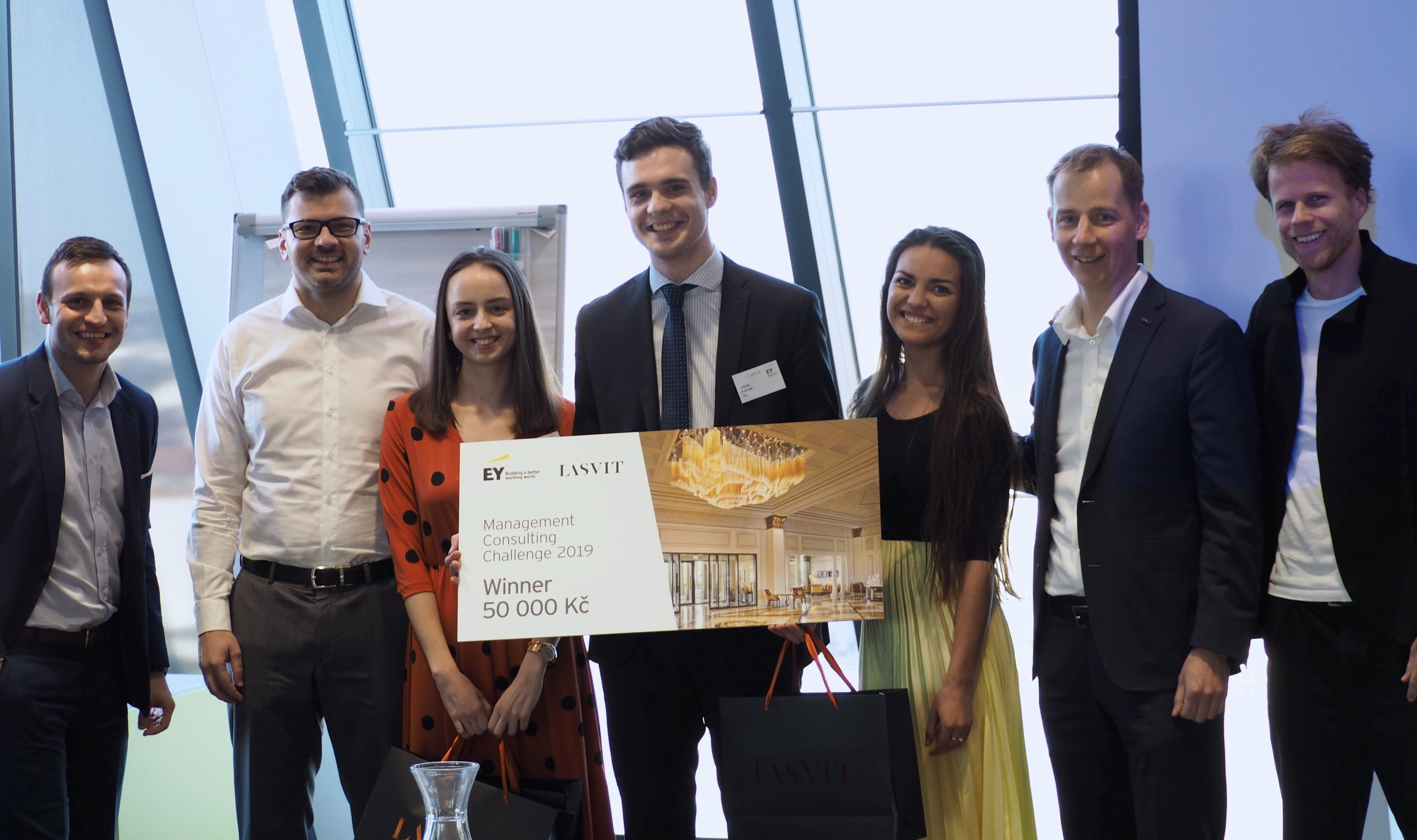 FIR team won Management Consulting Challenge 2019 – Faculty