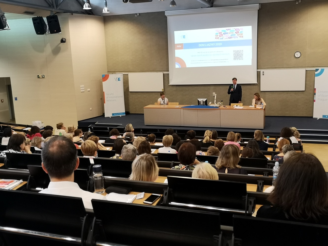 """FIR hosted a """"Day with Languages"""" Conference"""