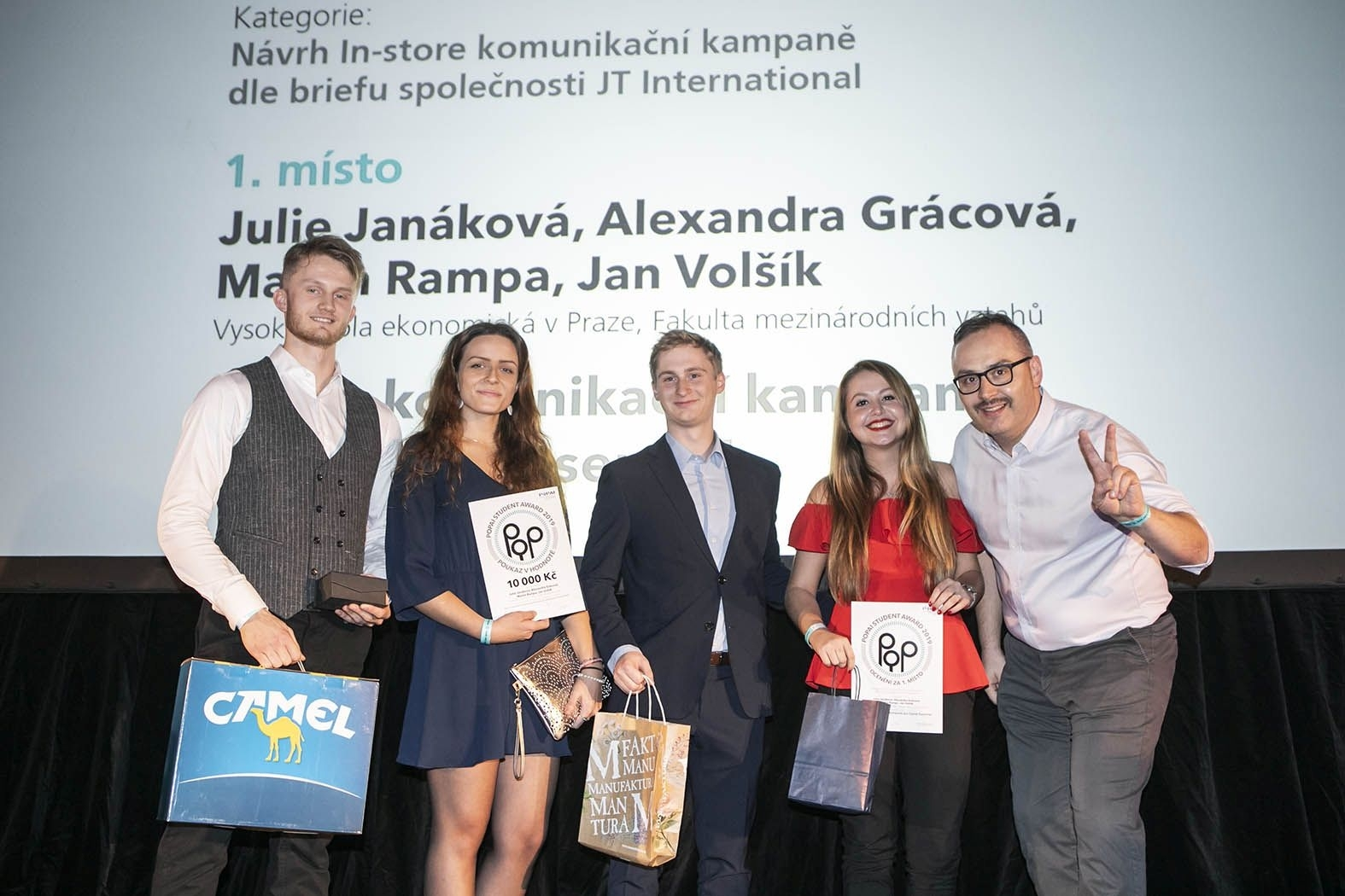 Students of Retail Marketing won the POPAI STUDENT AWARDS 2019 Competition