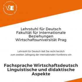 FIR organises 2nd international conference Fachsprache Wirtschaft