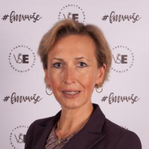 doc. Martina Jiránková, Head of The Department of International Economic Relations