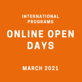 Did you miss our International Programs Online Open Days? Download presentations or watch video