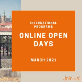 International Programs Online Open Days