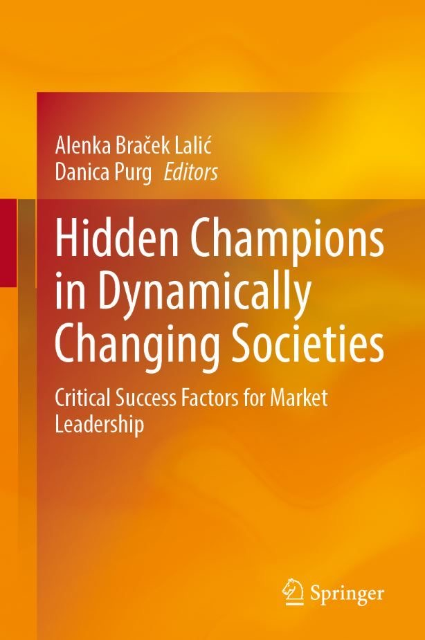 Our chapter in Hidden Champions in Dynamically Changing Societies just released